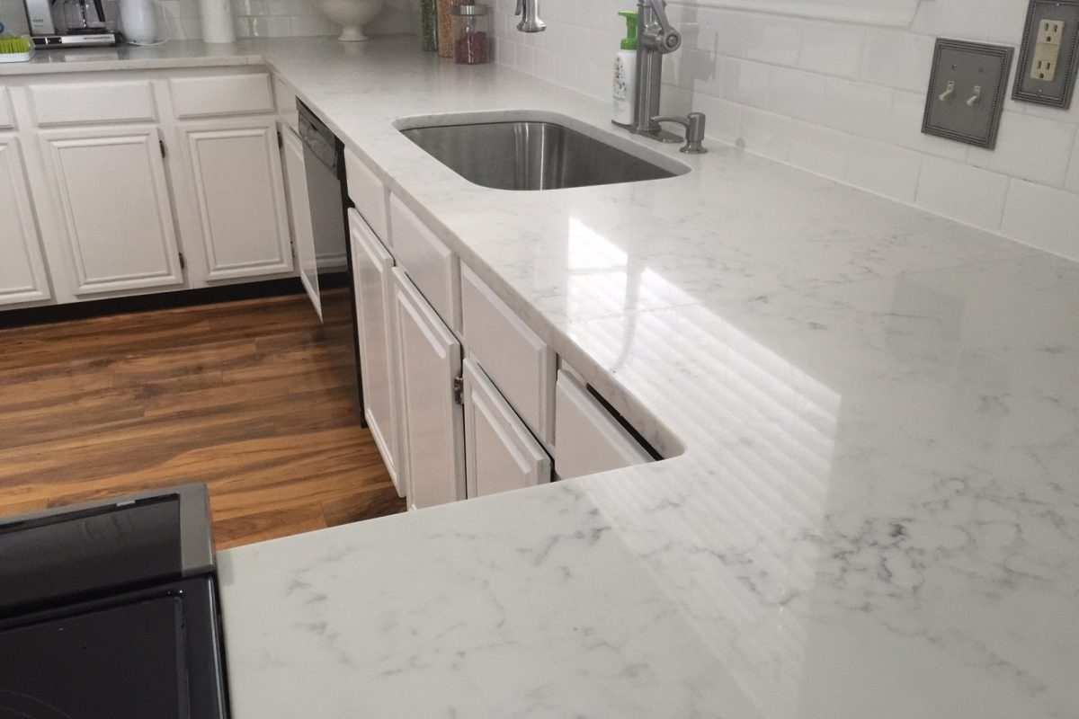 Where To Cut For New Kitchen Sink